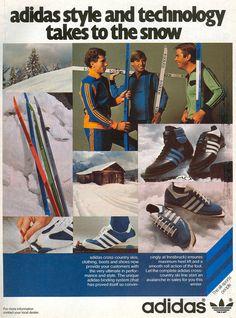love don't dance here anymore Adidas Vintage, Adidas Retro, Adidas Mode, Sneaker Posters, Xc Ski, 70s Inspired Fashion, Vintage Sportswear, Vintage Classics, Snow Fashion