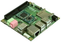 Korean company's tiny quad-core ARM Linux computer packs a punch at $129  Need a powerful alternative to the Raspberry Pi? Check out this 3.5-inch board.