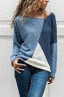 The round neck long sleeve color block knitting sweaters is so soft and comfy , and it suits many fall and winter poccasions. The round neck long sleeve color block knitting sweaters is so soft and comfy , and it suits many fall and winter poccasions. Sweater Fashion, Sweater Outfits, Sweater Cardigan, Cute Sweaters For Fall, Sweaters For Women, Winter Sweaters, Look Fashion, Womens Fashion, Color Block Sweater