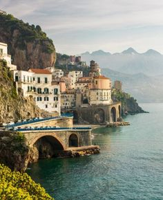 December marks the off-season on Italy's South Eastern coast. You can expect days as warm as 55° Fahrenheit and won't have to deal with quite as many tourists.