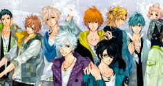 brothers conflict characters | Notícias - Character Designs dos personagens de Brothers Conflict ...