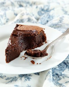 Gluten-free chocolate cake. Going to try it this week. Looks like an easy enough recipe.