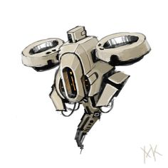 Image result for sci fi drone