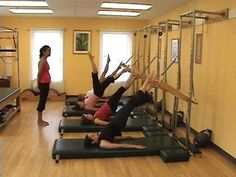 Pilates Tower Class - YouTube