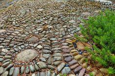 Nancyland Pebble Mosaic by Jeffrey Bale