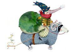 Pinzellades al món: Tendresa: Les il·lustracions de Tracey Long