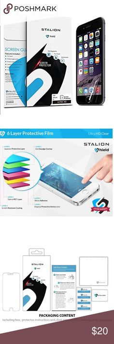 📱Electronic-iPhone 6/6s Plus screen protector 3pk 3 pack. Ultra High Definition film ensures crystal clear resolution. Stands up against dust, scratches, and fingerprints to reduce the signs of daily wear. Lifetime Warranty ✅Great deal!✅ Save with bundle discounts💰 I also offer customized bundles🛍  Interested? Leave a comment below 👇🏼 ~~~~~~~~~~~~~~~~~~~~~~~~~~~~~~ apple Accessories Phone Cases