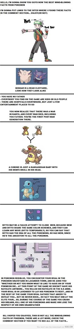 Pokemon awesomeness - Currently thanking my parents for not giving me Red/Blue version, I don't wanna be that girl