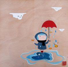 Raining picture