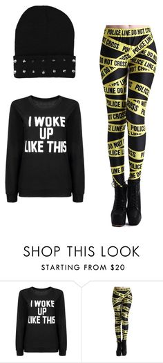 """Swag z Yoins"" by nicole-cichopek on Polyvore featuring moda"