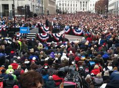 MADISON WISCONSIN TODAY... PRESIDENT OBAMA BRINGING IT!!   WE ARE DOING THIS!!  #OBAMA2012
