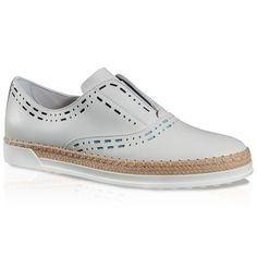 TOD'S Slip-On Shoes In Leather. #tods #shoes #slippers