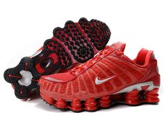NIKE SHOX TL1 MEN'S SHOE TEAM RED SALE   $80.64