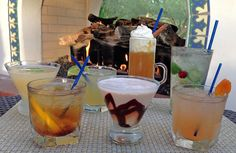 Winter cocktails:Maple Old Fashion, Tuaca Hot Apple Cider and Southwestern Winter MojitoEl ChorroParadise Valley, AZ