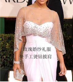 sparkly LACE cape,bolero, shrug , shawl, Wedding / Bridesmaid. Size 6 8 10 12 14 | eBay
