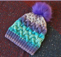 Winter Knitted Wool and Acrylic Hat Soft and Warm by PoddyFraiz