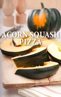 Laurentiis prepare a fresh Roasted Acorn Squash and Gorgonzola Pizza ...