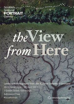Poster - The View From Here, 2016, Scottish National Portrait Gallery