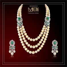 The pearl is the queen of gems and the gem of queens. #MBj #TheHouseOfMBj