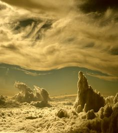 landscape in the sky.