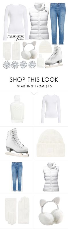 """ice skating"" by j-n-a ❤ liked on Polyvore featuring BP., Acne Studios, STELLA McCARTNEY, The North Face, RED Valentino, Bling Jewelry and iceskatingoutfit"