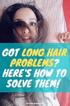 Got long hair problems? With these tips, you can leave them behind! Healthy Hair Tips, Healthy Hair Growth, Hair Growth Tips, Natural Hair Growth, Growing Out Short Hair Styles, Grow Long Hair, Long Hair Styles, Diy Hair Care, Hair Care Tips