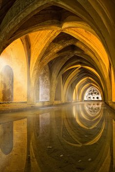 Alcázar in Seville - Andalusia, Spain Wonderful Places, Beautiful Places, Wonderful Picture, Places To Travel, Places To See, Places Around The World, Around The Worlds, Gaudi, Amazing Architecture
