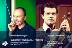 The classical music lovers in Bucharest are again invited on June 23 to attend the concert, part of the Bucharest Music and Film Festival which will take place in the George Enescu Square, starting with T Music Film, Bucharest, Classical Music, Music Lovers, Orchestra, Concerts, Film Festival, Backstage, June