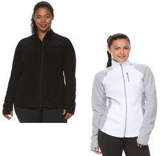 Tek Gear Active Womens Plus Full Zip Fleece Jacket size 1X 2X NEW  19.99 http://www.ebay.com/itm/Tek-Gear-Active-Womens-Plus-Full-Zip-Fleece-Jacket-size-1X-2X-NEW-/232439535738?ssPageName=STRK:MESE:IT