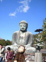 Daibutsu in Kamakura, Japan http://monkeybrewster.com/2010/12/29/brew-tuesday-sangenjayas-red-fish/
