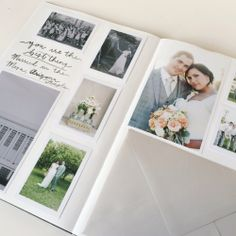Wedding anniversary scrapbook