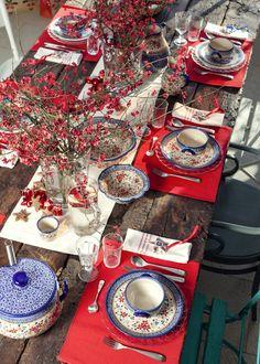 Christmas table  http://ceramika-design.com.pl/shop/item/80