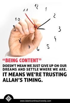 Trust Allah when things don't work out the way you wanted. Allah has something better planned for you.