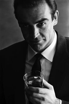 Terence Donovan - SEAN CONNERY, 1962 ADVERTISING SHOOT FOR SMIRNOFF VODKA | From a unique collection of photography at http://www.1stdibs.com/art/photography/