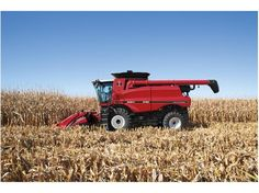 Harvesting was revolutionized when the Axial-Flow was introduced in CASE IH pays tribute to the original with a special-edition heritage look on the new 150 series combine. Case Ih Tractors, Farmall Tractors, International Tractors, International Harvester, Transportation Technology, Farm Boys, Farm Photo, Agriculture, Farming