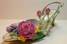 Fairy Bride Garden Shoes Woodland Wedding Shoes by AJuneBride, $165.95