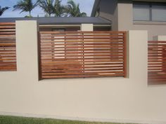Fence panels in rendered wall for our front garden - but with more character!