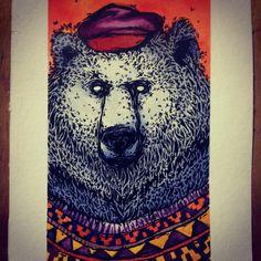 Karina Toledo 2014. watercolor