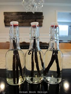 homeade vanilla extract. (and an amazon link where you can get vanilla beans for cheap(er)!)