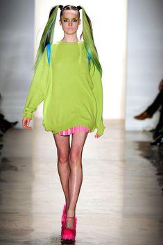 Jeremy Scott Fall 2011 Ready-to-Wear Fashion Show - Laura McCone