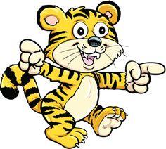 baby tiger cartoon