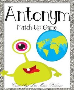 Your kiddos will love practicing Antonym matching with this fun match-up card game! Included in this pack are 18 match-up cards (26 word cards total!), an answer key and a student recording sheet.Please remember to RATE, FOLLOW and ENJOY! :)Check my TPT store for more fun games and text evidence packs!