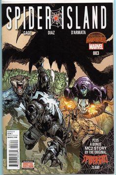 Spider Island #3 Marvel Comics 1st Print Secret Wars NM With Digital Copy