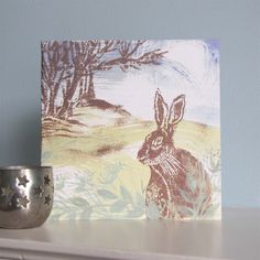 Show details for Woodland Hare Greeting Card