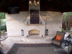 Fireplaces and Firepits by Southernwind Pools #001