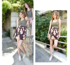 Φούστα εμπριμέ κουμπάκια (κωδ.Κ16Α306) Μπλουζάκι αμάνικο εμπριμέ (κωδ.Κ16Α011)  Skirt code: K16A308 Top code: K16A011  Shop Online: http://www.johnnyjo.gr/shop/μπλούζες/μπλουζάκι-αμάνικο-σταθερό-βισκόζ/  http://www.johnnyjo.gr/shop/φούστες/φούστα-εμπριμέ-κουμπάκια/