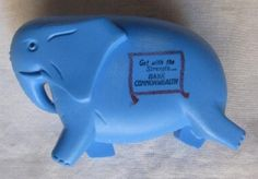 Commonwealth Bank money box - this came after the square tins that were printed to look like a building.