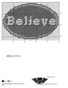 BELIEVE MAGNET Plastic Canvas Coasters, Plastic Canvas Ornaments, Plastic Canvas Crafts, Plastic Canvas Patterns, Diy Projects To Try, Craft Projects, Cross Patterns, Canvas Signs, Canvas Board