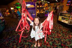 Stop by Northern Lights Arcade at Great Wolf Lodge for family fun games for all skill levels.