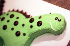 """I can think of several kids who would love a dinosaur party and several parents who would love these """"simple and cheap"""" ideas. Amy shares: Dinosaurs started marching around in my head months ago when Sean announced he wanted a dinosaur birthday party. And there they stayed until after Christmas because my brain cannot hold all that much party planning. The one thing I did figure out before Christmas was I didn't really like the few dinosaur party themes already out there. So I challenged…"""